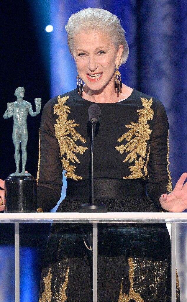 Helen Mirren, SAG Awards