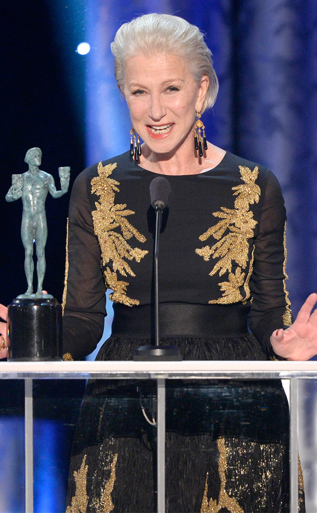 Helen Mirren, SAG Awards