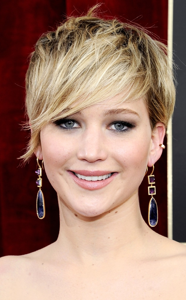 Jennifer Lawrence, SAG Awards, Hairstyle