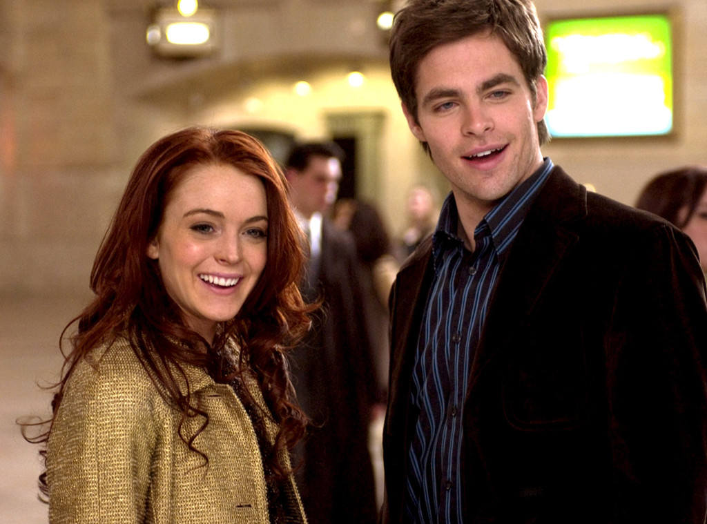 Lindsay Lohan, Chris Pine, Just My Luck