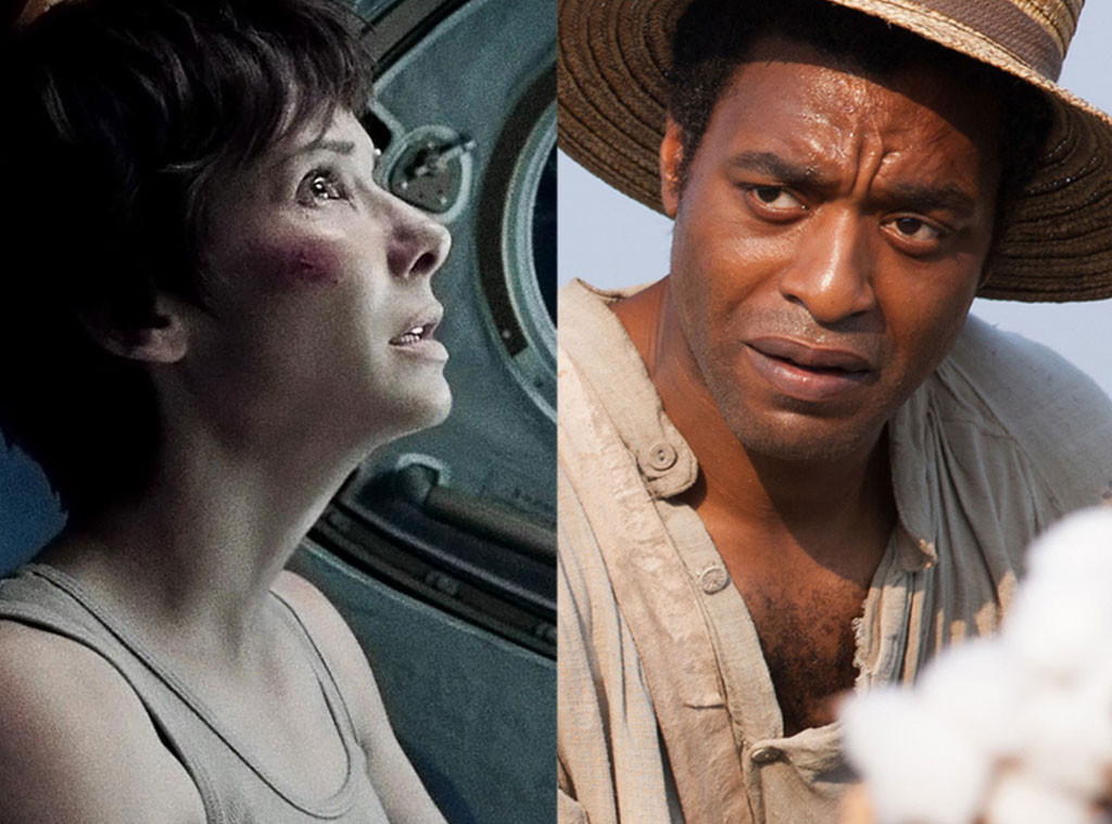 Gravity, 12 Years A Slave
