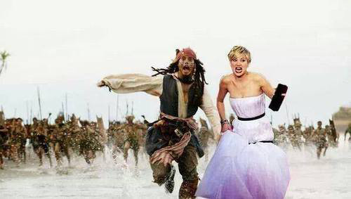Jennifer Lawrence meme vestido Globo de Ouro