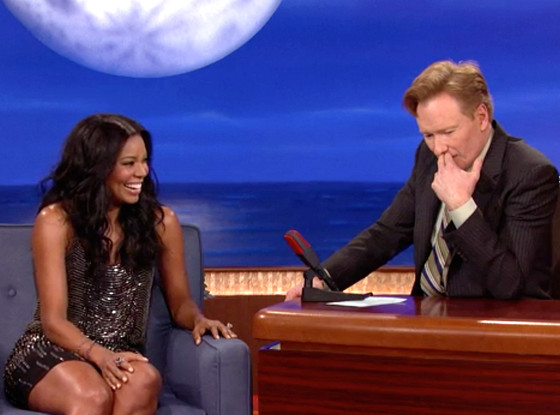 Gabrielle Union, Conan O'Brien