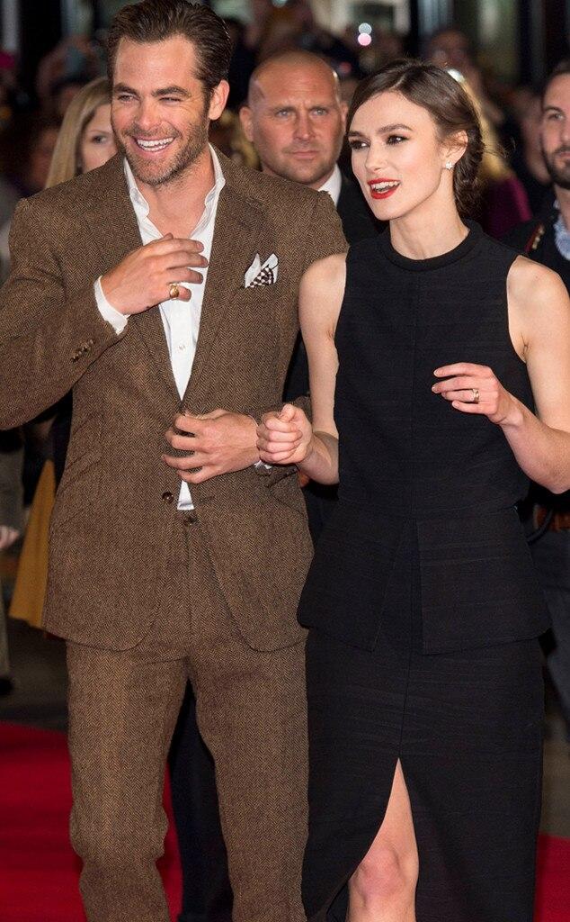 Chris Pine, Keira Knightley