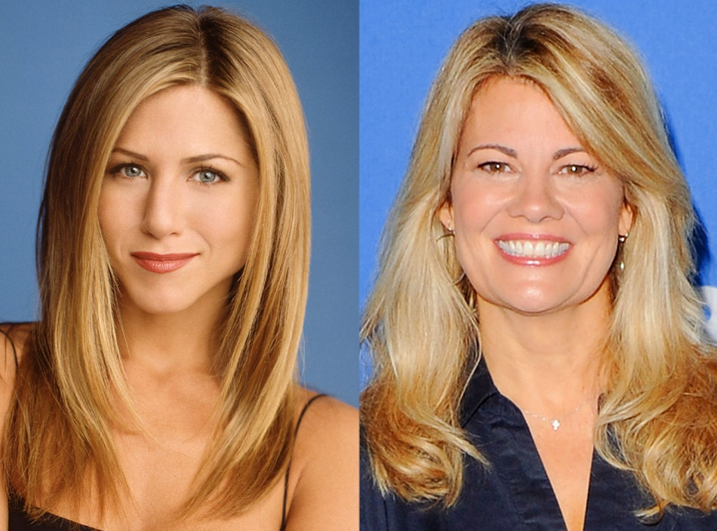 Lisa Whelchel, Jennifer Aniston, Friends