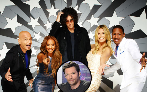 AGT, America's Gog Talent Cast, Harry Connick Jr.