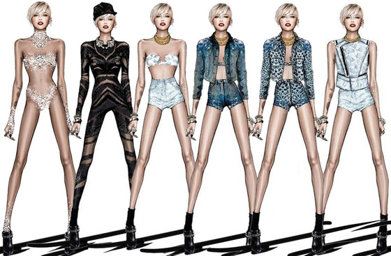 Miley Cyrus, Roberto Cavalli