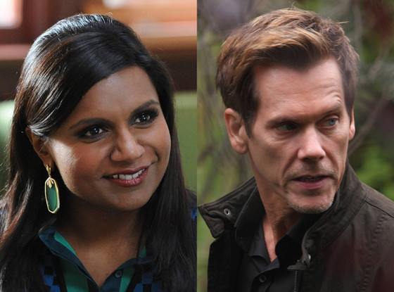 Kevin Bacon, The Following, Mindy Kaling, Mindy Project