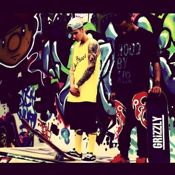 Justin Bieber, Instagram