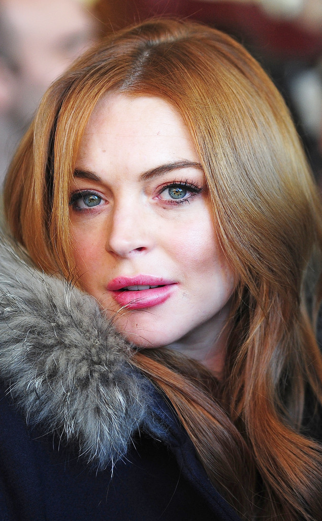 Beauty Police Lindsay Lohan Is All Peaches And Clean At Sundance