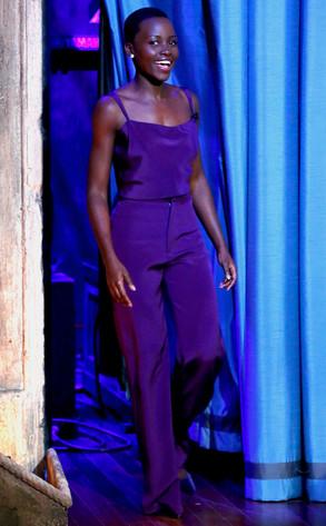 Lupita Nyong'o, Jimmy Fallon