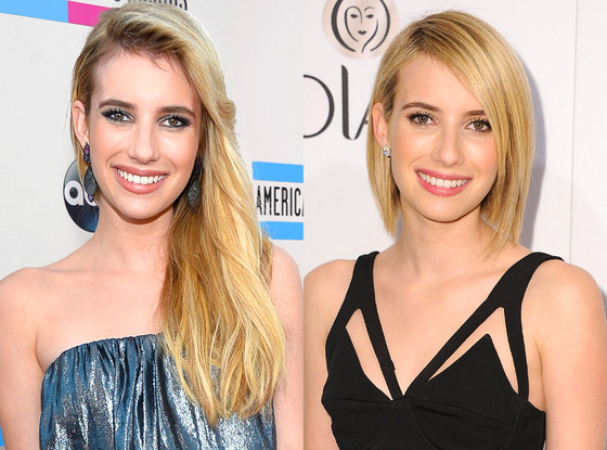 Emma Roberts, Haircut