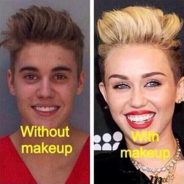 Justin Bieber, Miley Cyrus, Mug Shot