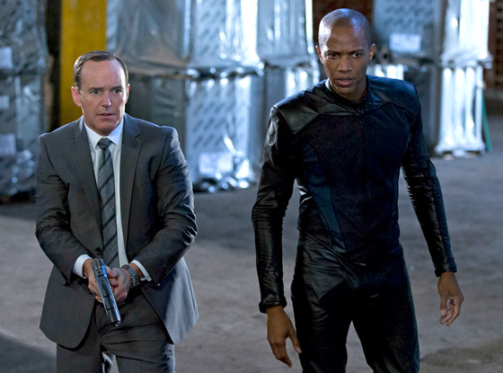 Clark Gregg, J. August Richards, Agents of SHIELD