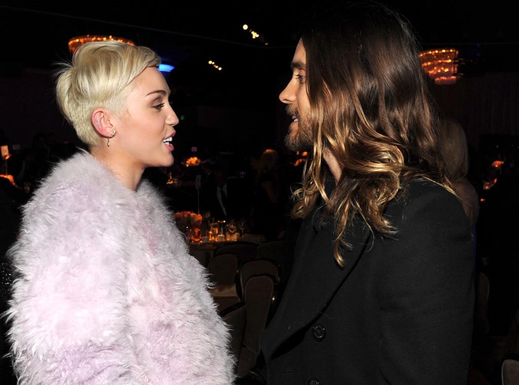 Miley Cyrus, Jared Leto