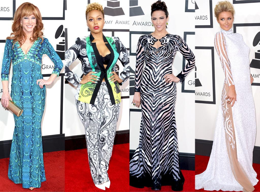 Paula Patton, Paris Hilton, Kathy Griffin, Chrisette Michele, GRAMMYS 2014