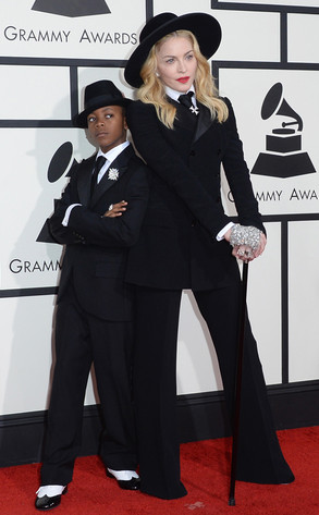 Madonna, David Banda Mwale Ciccone Ritchie, 56th GRAMMY Awards