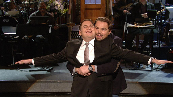 Jonah Hill, Leonardo DiCaprio, SNL