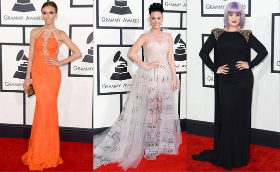 Grammy Awards, Giuliana Rancic, Katy Perry, Kelly Osbourne