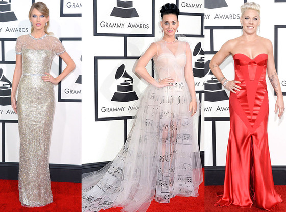Grammy Awards, Taylor Swift, Pink, Katy Perry