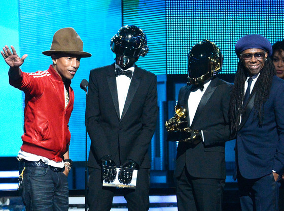 Pharrell Williams, Daft Punk, Nile Rodgers, Grammy's