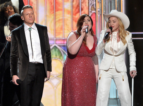 Macklemore, Mary Lambert, Madonna, GRAMMYS 2014