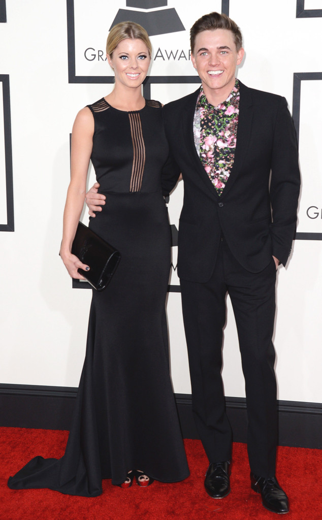 Katie Peterson, Jesse McCartney, 56th GRAMMY Awards