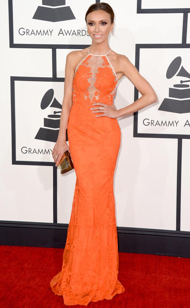 Giuliana Rancic, 56th annual GRAMMY Awards
