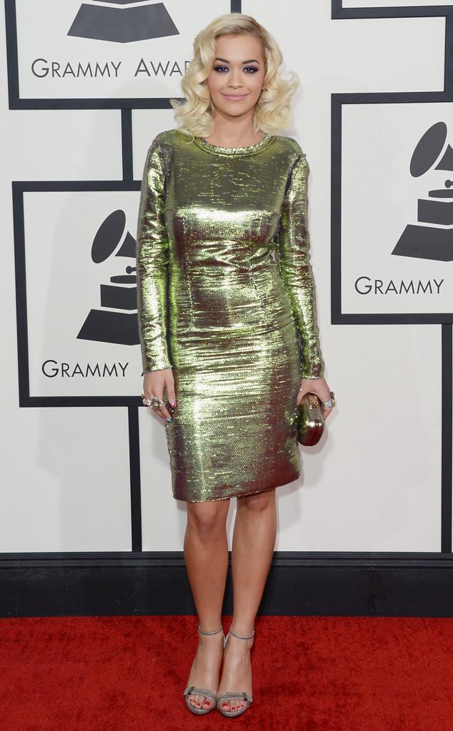 ESC: Rita Ora, GRAMMYS 2014
