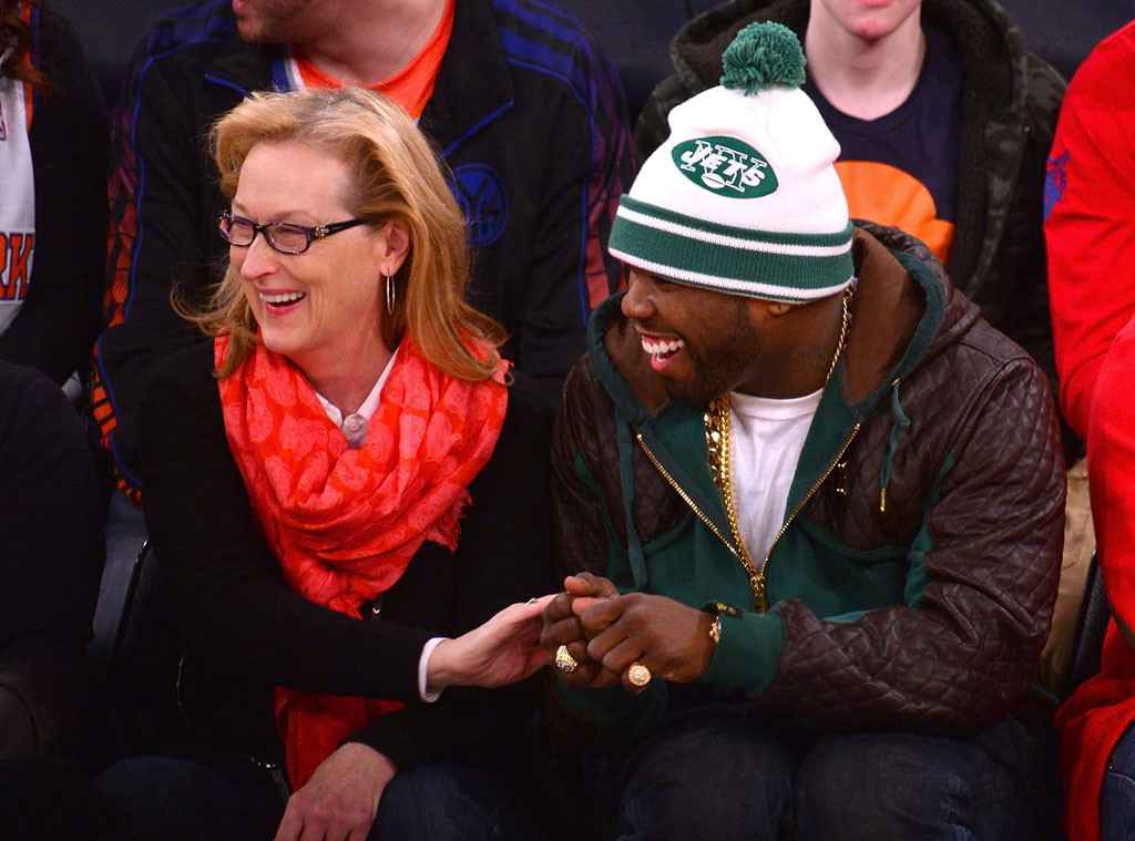 "Meryl Streep and 50 Cent Are BFFs, Get ""a Little Gangsta"" at ..."