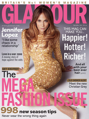 Jennifer Lopez, Glamour UK