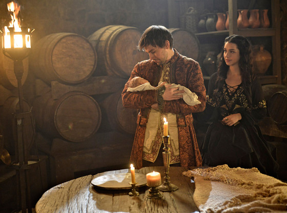 Reign First Look What Are Mary And Bash Doing With A Baby Check