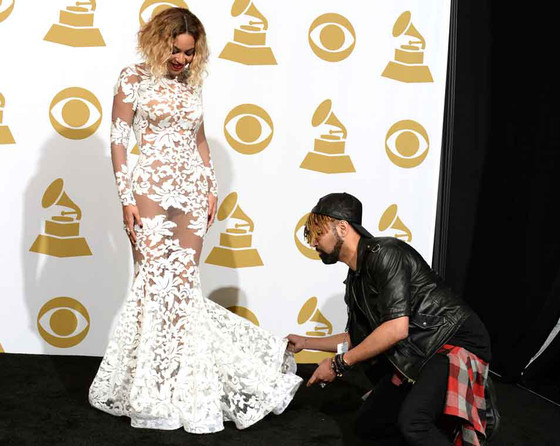 Beyonce Knowles, Grammy Candids