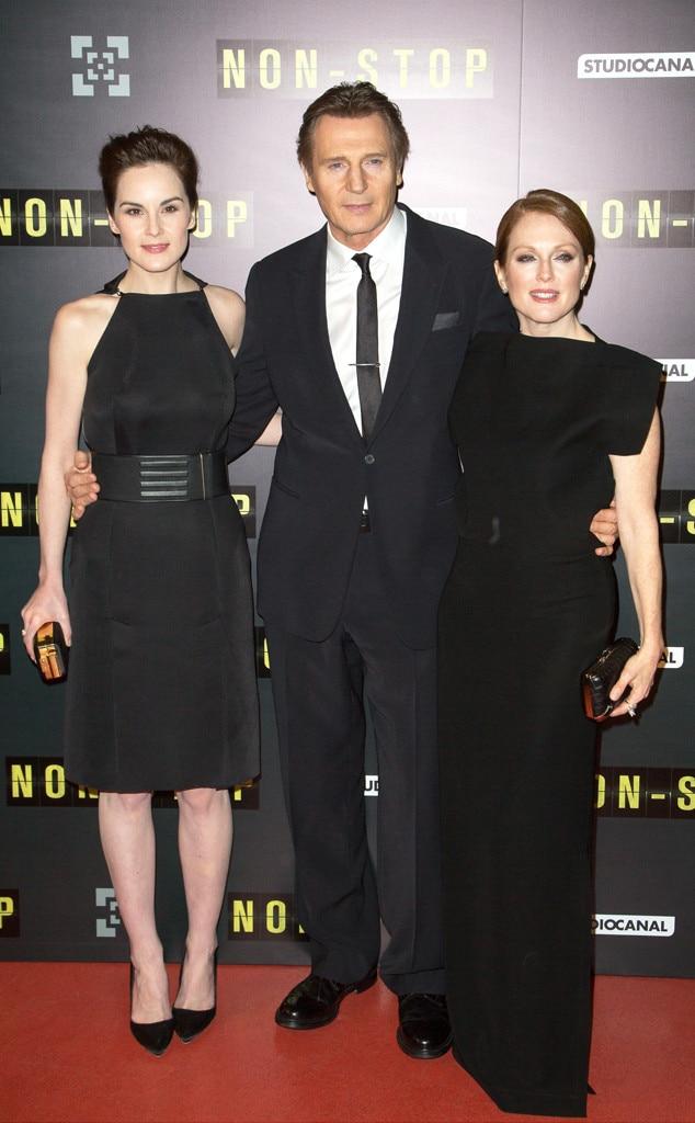 Michelle Dockery, Liam Neeson, Julianne Moore