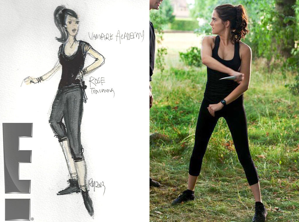 Rose's work out clothes, Exclusive Vampire Academy Costume