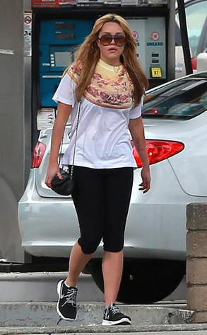 Amanda Bynes, Gym