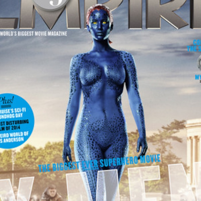 Jennifer Lawrence Is Naked On The Cover Of Empire In Body Paint See The Pic E News