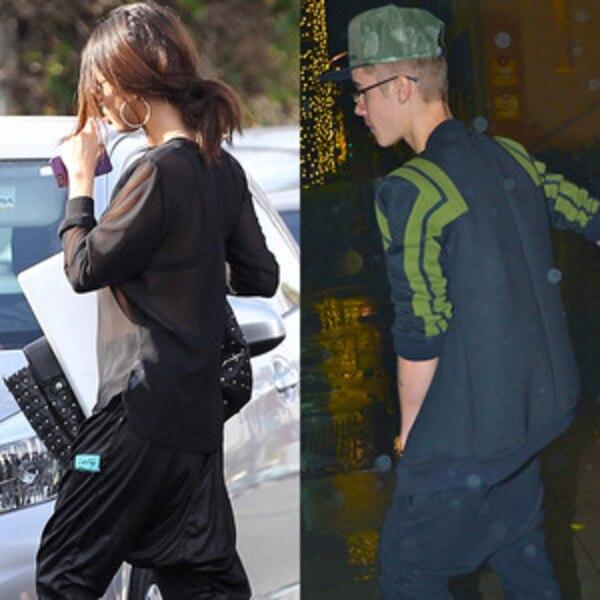 Selena Gomez Copies Ex Justin Bieber Steps Out In Drop Crotch Pants