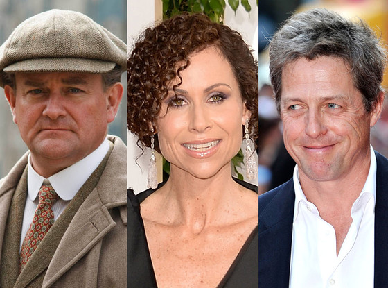 Minnie Driver, Hugh Grant, Hugh Bonneville, Downton Abbey