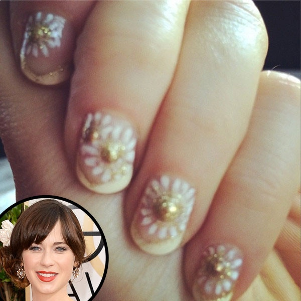 Zooey Deschanel, Nails, Manicure