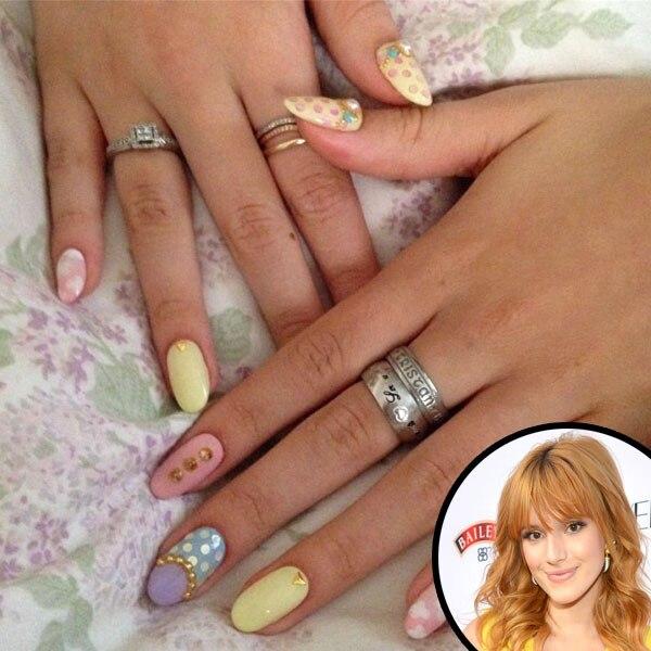 Bella Thorne, Nails, Manicure