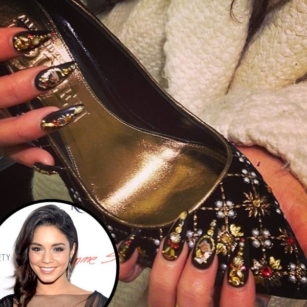 Vanessa Hudgens, Nails, Manicure
