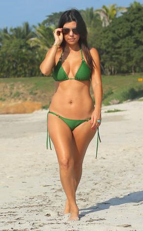 Kourtney Kardashian, Mexico Bikini