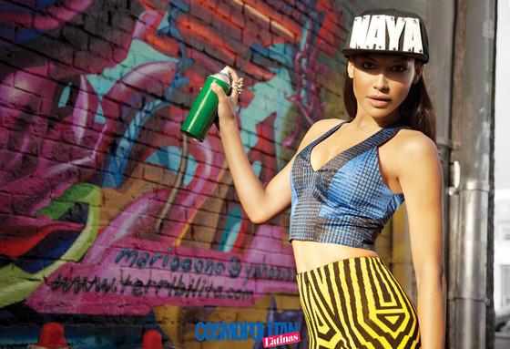 Naya Rivera, Cosmopolitan for Latinas, Cover