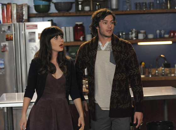 New Girl, Zooey Deschanel, Adam Brody