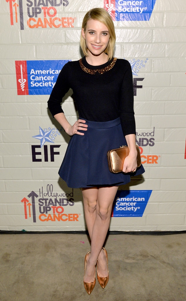 Emma Roberts, Stand Up To Cancer