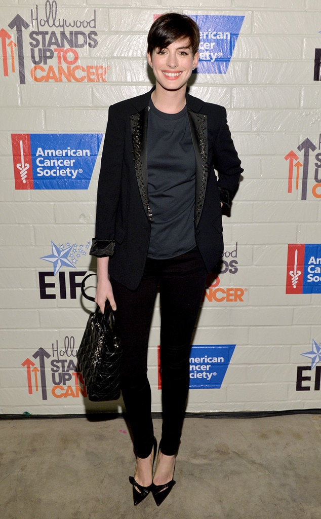 Anne Hathaway, Stand Up To Cancer