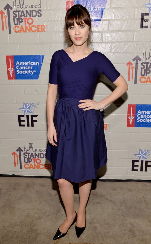 Zooey Deschanel, Stand Up To Cancer