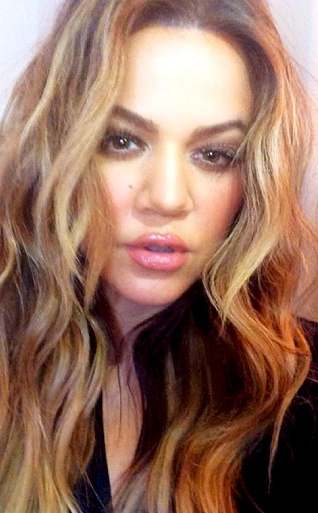 khlo233 kardashian flaunts new highlights in glamorous