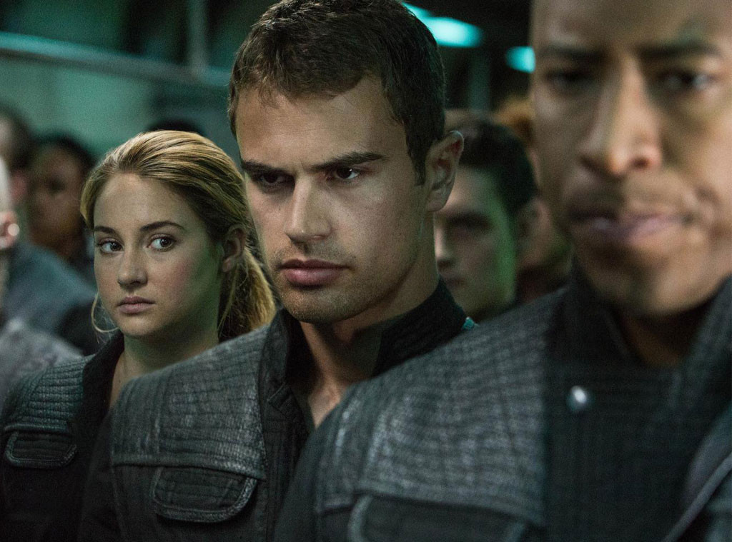 Divergent, Shailene Woodley, Theo James